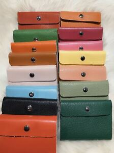 New 22 Cards Holder Pocket Credit Oyster Card ID Faux Leather Purse Travel