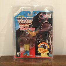 WWF/WWE Koko B. Ware Hasbro Action Figure 1992 Series 3 MOC French Card & Case
