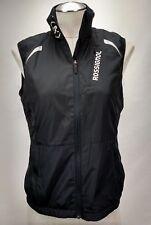 Rossignol Womens Ski Vest Size Medium Black Reflective Winter Snowboard Lined