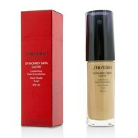 Shiseido Synchro Skin Glow Luminizing Fluid Foundation SPF 20 - #Neutral 3 30ml
