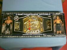SPINNING WWE CHAMPIONSHIP BELT WITH EDGE- JOHN CENA RARE