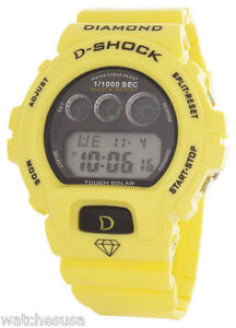 King Master Unisex Digital Yellow Rubber Band Quartz Watch