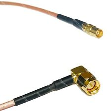RG316DS MCX FEMALE to SMA MALE ANGLE RF Cable FAST-SHIP LOT