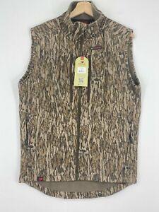 Mossy Oak Vest Mens Medium Camo Sherpa 2.0 Fleece Lined Hunting