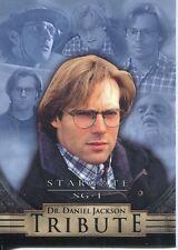 Stargate SG1 Season 5 Dr. Daniel Jackson Tribute Chase Card D3
