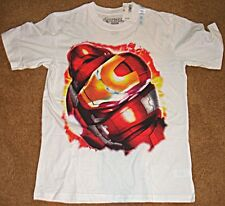 CHILDRENS PLACE T-SHIRT T XL WHITE MARVEL IRON MAN AVENGERS TEE MOVIE 3 NEW