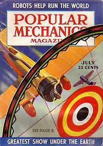 1939 Popular Mechanics July-Crosley; Logging; Carlsbad