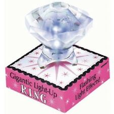 Team Bride Gigantic Light Up Ring Clear 1 PC