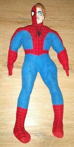 2002 Keytoy Peter Parker Spiderman Plush Ultra Rare Dual Marvel