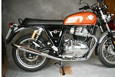 Royal Enfield Interceptor Continental 650 exhausts from Norman Hyde Products