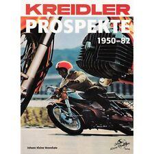 Kreidler Prospekte 1950-1982 Mopeds Typen Modelle Werbung Techniche Infos Buch