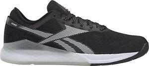 Reebok Crossfit Nano 9 Flexweave Mens Training Shoes Black Gym Workout Trainers
