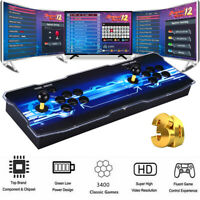 New 3400 in 1 Pandora-s Games Double Stick Video Gaming Console VGA For PC