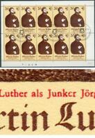 DDR Kleinbogen Martin Luther Mi.-Nr.2755 mit PLF IIo, IVo, Michel 110€, pracht
