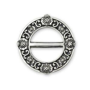 Schottische Thistle Schal Ring Groß