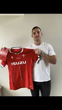 More details for guinness six nations 2021 wales rugby team signed jersey - proceeds to charity