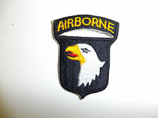 0395 WW2 US Army 101st Airborne Infantry patch Red tongue R3A