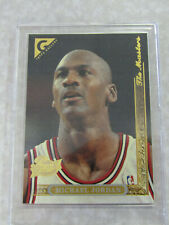 1995-96 Topps Gallery The Masters #10 Michael Jordan PLAYERS PRIVATE ISSUE