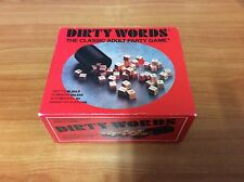 1993 Board Game - Dirty Words  - 100% Complete