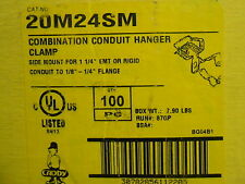"CADDY 20M24SM 1 1/4"" CONDUIT TO BEAM HANGER"