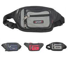 New Men's Travel Waist Belt Bum Bag Sports 268 Casual Lightweight Small Fanny