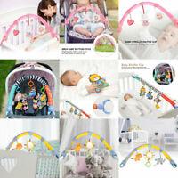 Kid Baby Crib Cot Pram Hanging Rattle Clip Rattle Bed Stroller Bell Plush Toy UM