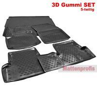 3D Gummimatten + Kofferraumwanne Set für Peugeot 3008 SUV ab Bj. 05/2016 Nov