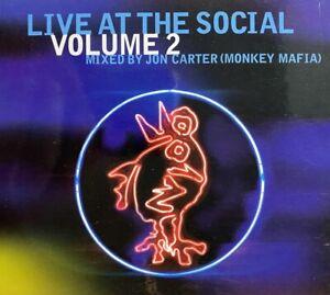 LIVE AT THE SOCIAL VOLUME 2 MIXED BY JON CARTER (MONKEY MAFIA) 21 TRACKS CD