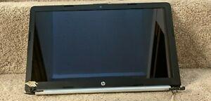 """HP 15-DA0053WM Display 15.6"""" HD Touch Screen / Digitizer / Back Cover"""
