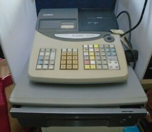 Casio TE-2000 Electronic Cash Register