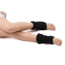 Boot Socks Leg Warmers Crochet Knit Toppers Cuffs Knee High Long Legging LR