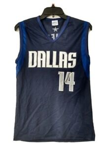 Eduardo najera #14 Dallas Mavericks NBA Fan Jersey USA by Park Anthony sz Med