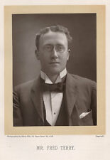 c.1890 PHOTO 'THE THEATRE' WOODBURYTYPE ALFRED ELLIS - MR FRED TERRY
