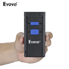 Pocket Bluetooth Laser Barcode Scanner Auto Code Wireless For IOS Android PC