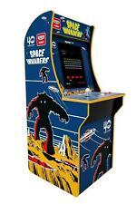 "Arcade1Up Space Invaders 4 ft Vintage Video Arcade Machine Game Room 17"" LCD"