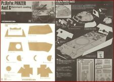 Show Modelling Pz.Kpfw Panzer Ausf.G Zimmerit Coating for 1/35 Scale Model Kit