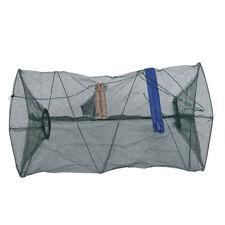 Cage shrimp fishing nets,bait traps,nylon mesh ring,fishing tools B4G8