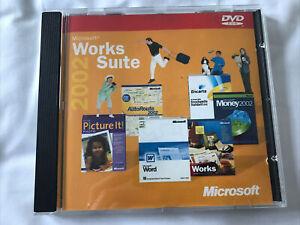 Microsoft Works Suite 2002