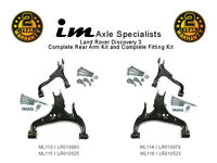 Land Rover Discovery3 Rear Left+Right Upper+lower Suspension Arms +Fittings