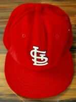 St Louis Cardinals New Era Fitted Baseball Cap Offical MLB Hat - 7 5/8 - 59Fifty