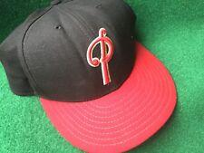 VTG New Era 5950 MiLB Portland Beavers Fitted Cap 7 7/8 Wool Baseball Hat