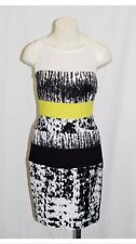 BCBG Max Azria Black abtract formalWomen's Sheath Dress Sz 8 - NWT Retail $268