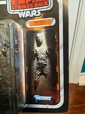 Star Wars The Black Series Han Solo (Carbonite) Amazon Exclusive DAMAGED CARD.