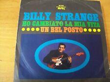 "BILLY STRANGE HO CAMBIATO LA MIA VITA 7"""