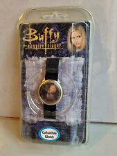 More details for vintage buffy the vampire slayer wrist watch new in packaging (angel,spike) 2000