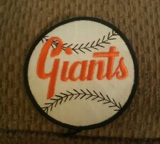 VINTAGE NEW YORK GIANTS/SAN FRANCISCO  4 INCH SEW ON PATCH ,NOS