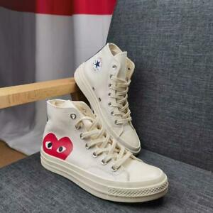Converse all star Comme des Garcons PLAYBlanc