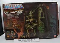 Castle Grayskull W Box Complete 1982 MOTU Masters of the Universe He-Man Mattel