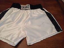 (SSG) MUHAMMAD ALI Signed Everlast Boxing Shorts with a JSA Full Letter COA