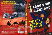 They Died with Their Boots On (1941) - Errol Flynn  DVD NEW